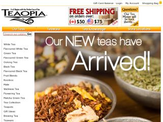 Shop at teaopia.ca