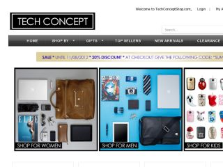 Shop at techconceptshop.com