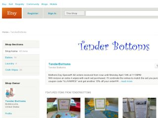 Shop at tenderbottoms.etsy.com