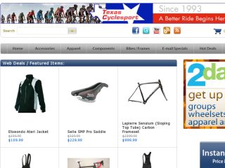 Shop at texascyclesport.com