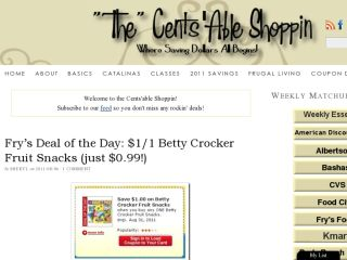 Shop at thecentsableshoppin.com
