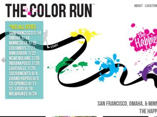 Shop at thecolorrun.com