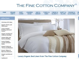 Shop at thefinecottoncompany.com