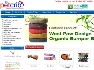 Shop at thepetcrib.com