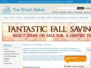 Shop at thesmartbaker.com