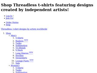 Shop at threadless.com