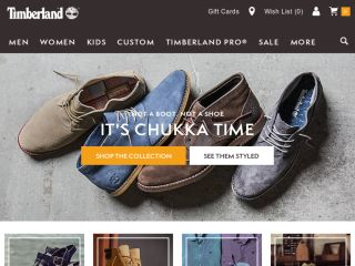 Shop at timberland.com