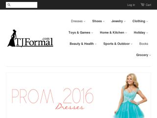 Shop at tjformal.com