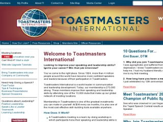Shop at toastmasters.org