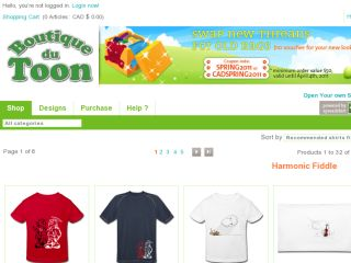 Shop at toonshop.spreadshirt.com