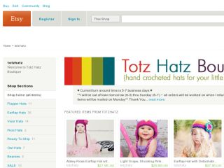 Shop at totzhatz.etsy.com