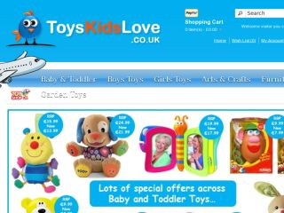 Shop at toyskidslove.co.uk