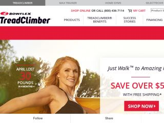 Shop at treadclimber.com