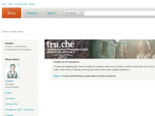 Shop at truche.etsy.com