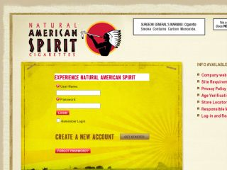 Shop at tryamericanspirit.com