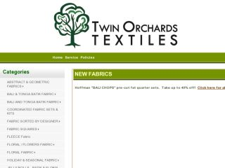 Shop at twinorchardstextiles.com