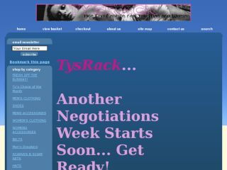 Shop at TysRack.1freecart.com