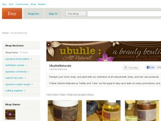 Shop at ubuhlenaturals.etsy.com