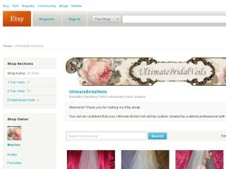 Shop at ultimatebridalveils.etsy.com