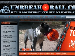 Shop at unbreakoball.com