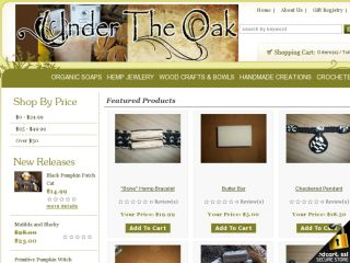Shop at undertheoakstore.com