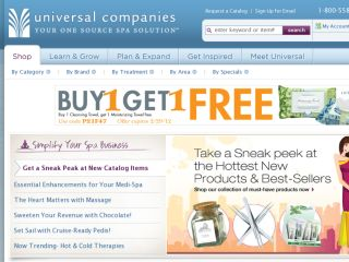 Shop at universalcompanies.com