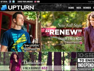 Shop at upturnclothing.com
