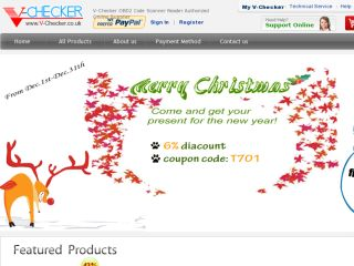 Shop at v-checker.co.uk