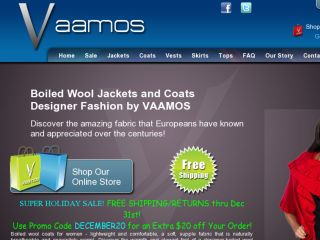 Shop at vaamos.com