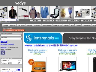 Shop at vadys.com