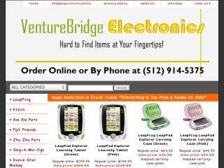 Shop at venturebridgeelectronics.com