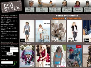 Shop at vetement-enfant-newstyle.fr