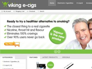 Shop at vikingecigs.co.uk