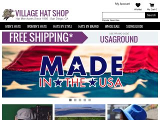 Shop at villagehatshop.com