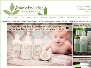 Shop at vintagebodyspa.com