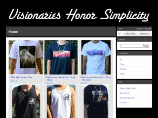 Shop at visionarieshonorsimplicity.com