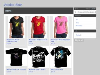 Shop at voodooblue.bigcartel.com