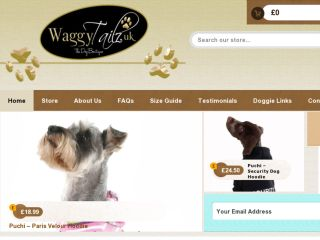 Shop at waggytailzuk.com