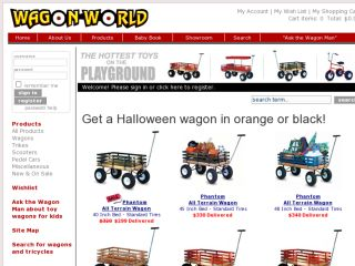 Shop at wagonworld.com