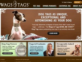 Shop at wagsandtags.com