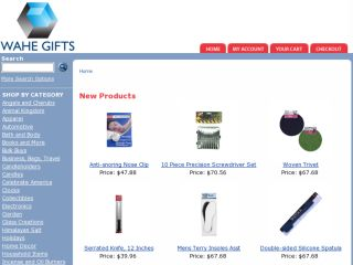 Shop at wahegifts.com