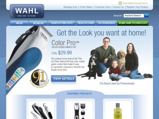 Shop at wahl-store.com