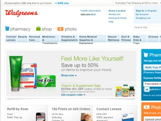 Shop at walgreen.com