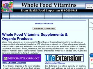 Shop at whole-food-vitamins.net