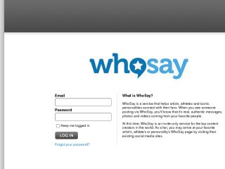Shop at whosay.com