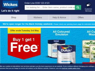 Shop at wickes.co.uk