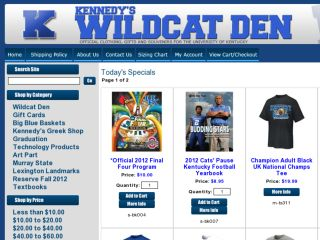 Shop at wildcatden.com