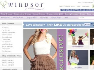 Shop at windsorstore.com