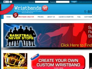 Shop at wristbands.net
