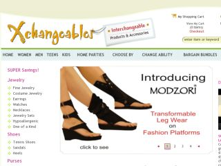 Shop at xchangeables.com